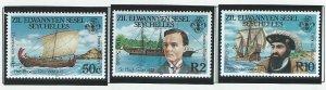 Seychelles Zil Elwannyen Sesel    mnh sc 111 - 113
