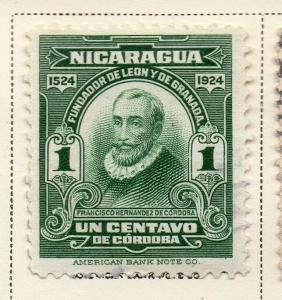 Nicaragua 1924 Early Issue Fine Used 1c. 323650