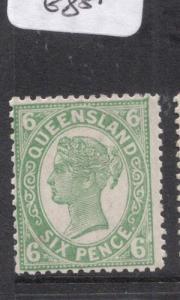 Queensland SG 249 MOG (7dls)