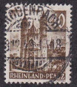 Germany - Rhine Palantine # 6N36, Used, 1/3 Cat