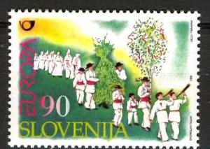 Slovenia 1998: Sc. # 321; **/MNH Cpl Set