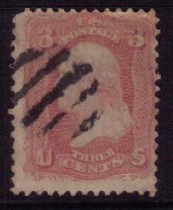 US SCOTT #64b USED F-VF