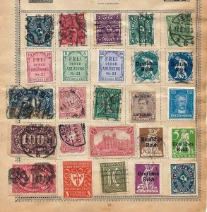 Portugal Cols Germany Greece  Czech On Early Pages(Appx 200 Items)NT 689