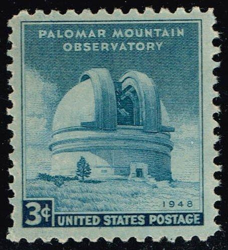 US #966 Palomar Mountain Observatory; Unused No Gum (0.25)