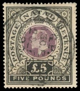 Natal Scott 98 Gibbons 144 Used Stamp