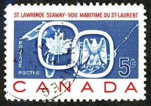 Canada #387 Used