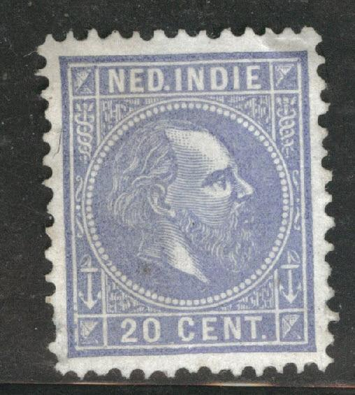 Netherlands Indies  Scott 12 used 1870 King William III