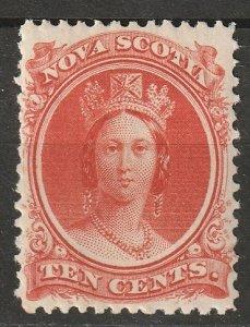 Nova Scotia 1860 Sc 12a MLH*