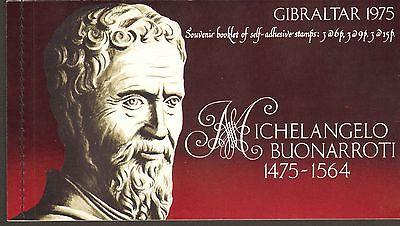 GIBRALTAR #328a  MINT NEVER HINGED COMPLETE BOOKLET