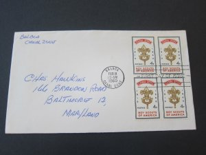 Canal Zone 1960.2.8 FDC