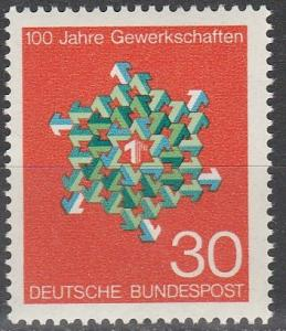 Germany #991 MNH F-VF (SU4934)