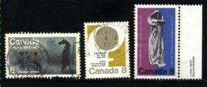 Can #667-69   u   VF 1975 PD