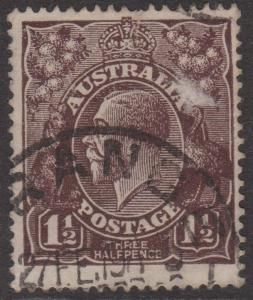 Australia KGV Sc#63 Used