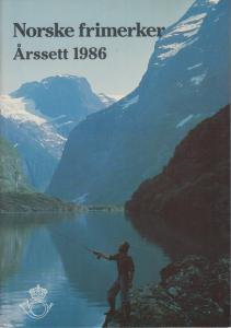 Norway, 1986 Year Set complete in Norway Post folder, fresh, VF