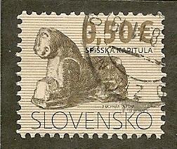 Slovakia     Scott  564     Sculpture    Used