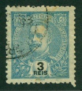 Portuguese India 1902 #202 U SCV (2018) = $0.25
