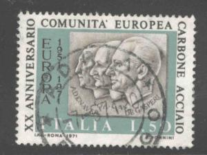 Italy Scott 1036 Used