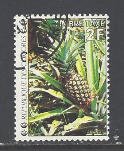 Comoro Islands Sc # J7 used (DT)