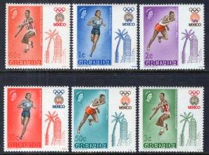 Grenada 280-285 Summer Olympics MNH VF