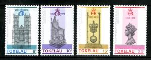 TOKELAU ISLANDS 61-4 MNH SCV $2.15 BIN $1.25