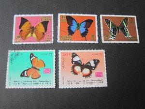 Yemen Butterfly set FU