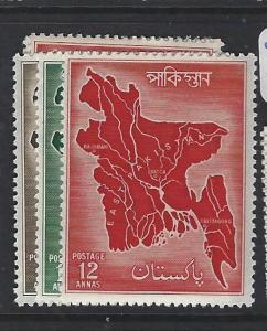 PAKISTAN    (P2502B)  MAP  SG 84-6  MOG