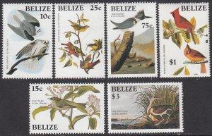 Belize 750-755 MNH CV $7.60