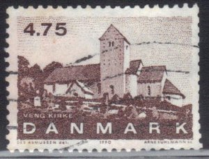 DENMARK SC# 925 **USED** 4.75k 1990 SEE SCAN