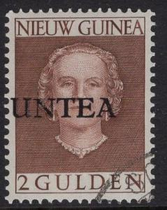 Netherlands West New Guinea UNTEA  #18 UN temporary authority 1962 cancelled 2g