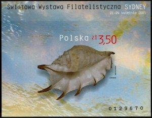 Poland #3774 Souvenir/Mini Sheet Imperf MNH- World Philatelic Exhibition (2005)
