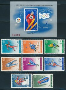 Romania - Calgary Olympic Games MNH Sports Set (1988)
