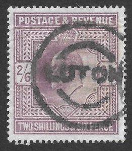 Doyle's_Stamps: Well Centered, Jumbo 4-Margin 1911 King Edward VII Scott #139a