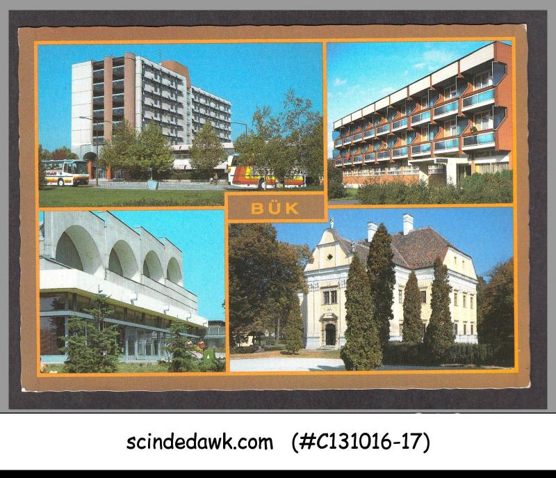 HUNGARY - 1988 SPECIAL PICTURE POSTCARD WITH DUCKS STAMPS & SPECIAL CANCL.