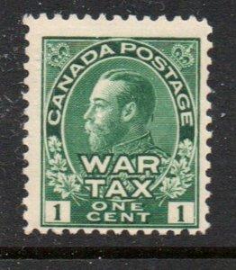 Canada Sc MR1 1915 1 c War Tax stamp mint NH