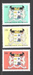 Benin. 1997. 926-28. Coat of arms of Benin. MNH.