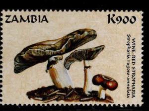 Zambia Scott 749f MNH** 1998 Mushroom stamps