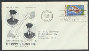 FDC SG 636 SC# 494 SPECIAL - please read details - Aviation