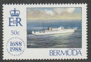 Bermudes 1988  Scott No. 542  (N**)