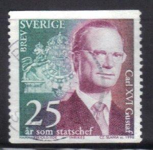 SWEDEN SC# 2292 **USED** 5k 1999  KING CARL XVI  SEE SCAN