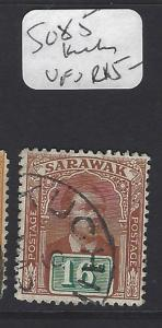 SARAWAK  (PP30010B)  16C BROOKE  SG 85  KUCHING  VFU