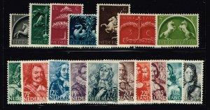 Netherlands Stamp 1943-44 MHR/OG STAMPS LOT
