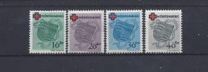 Germany (Wurttemberg), 8NB1-8NB4, Occupation Stamps Singles, **MNH**, (LL2019)