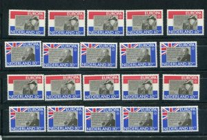 D093783 Europa CEPT 1982 History Wholesale 10 Series MNH Netherlands