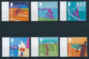 [24880] Guernsey 2003 Island games Cycling Golf Sailing MNH