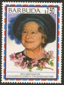 BARBUDA Sc#1551 1995 Queen Mother's Birthday Complete Mint OG NH