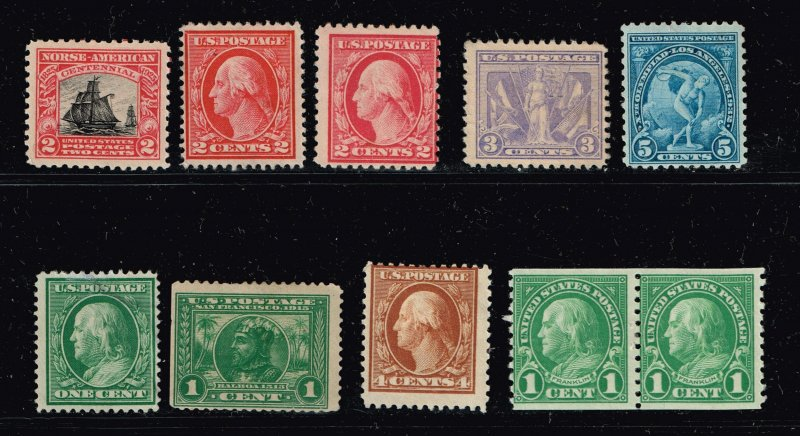 US STAMP 1920-30'  MINT STAMP COLLECTION LOT #S3