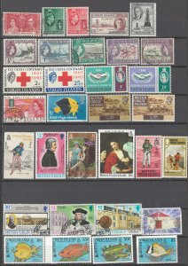 COLLECTION LOT OF # 1965 VIRGIN ISLANDS 32 STAMPS 1937+ CLEARANCE