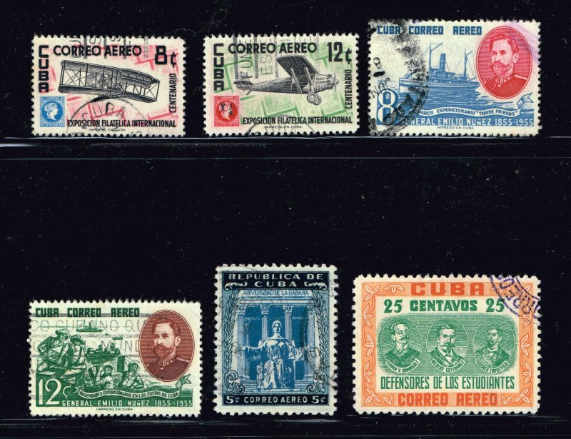 CUBA STAMP Airmail Stamps Collection Lot #10