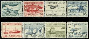 Greenland 78-85 MNH - Transportation