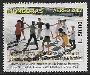 Honduras # C1261 - Children Dancing - used   -{BR9}